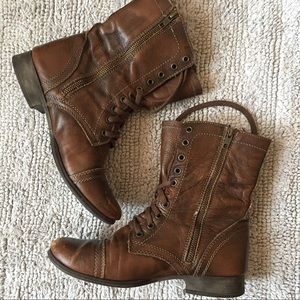 STEVE MADDEN| Leather Boots